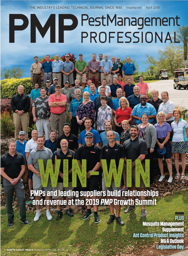 PMP'S APRIL 2019 COVER (PHOTO: LOU FERRARO, PARK SOUTH PHOTOGRAPHY)
