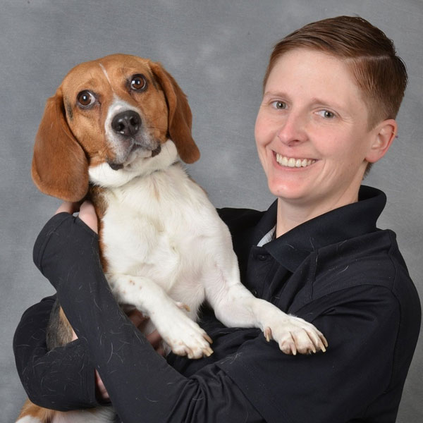 Lindsay Allard of Wil-Kil Pest Control, handler of Jack, the canine pictured. PHOTO: WIL-KIL PEST CONTROL