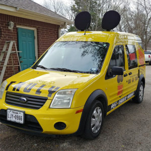 One of owner Johnny Whearley's service vehicles at the new franchise location in Texas. PHOTO: TRULY NOLEN PEST CONTROL