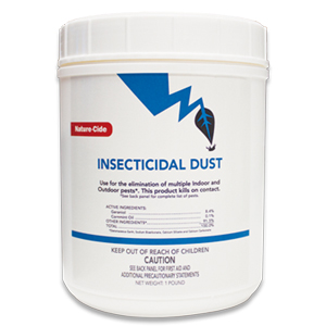 Insecticidal Dust PHOTO: NATURE-CIDE