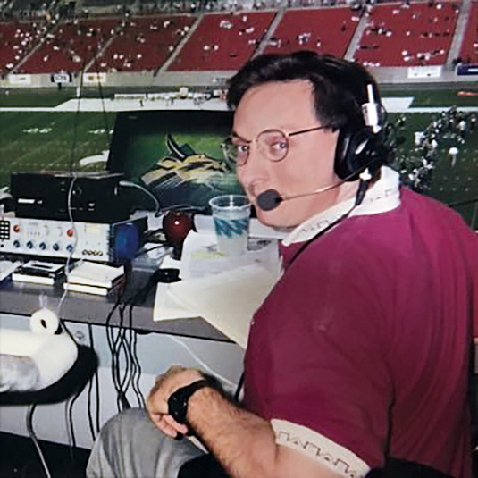 Pete Schopen, circa 1998. PHOTO: PETE SCHOPEN