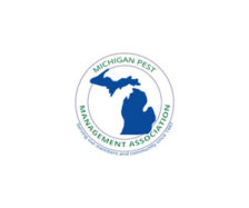 Logo: michigan pest management association mpma