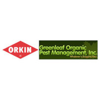 Logos: Orkin, Greenleaf Organic Pest Management