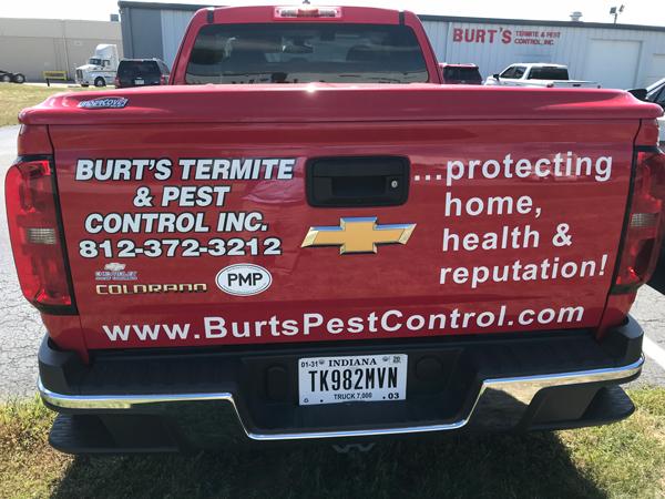 PHOTO: BURT'S TERMITE AND PEST CONTROL INC.
