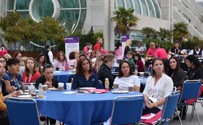 Attendees learned more about PWIPM and whit it has to offer. PHOTO: DANIELLE PESTA