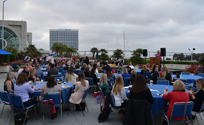 It was an early morning and overcast skies for the PWIPM Networking Breakfast on Oct. 17. PHOTO: DANIELLE PESTA