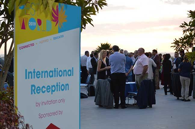 PestWorld International Reception PHOTO: DIANE SOFRANEC