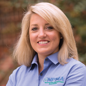 NPMA's VP of conventions and meetings, Alexis Wirtz, CMP.