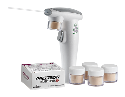 The Precision Delivery System and Doxem Precise.