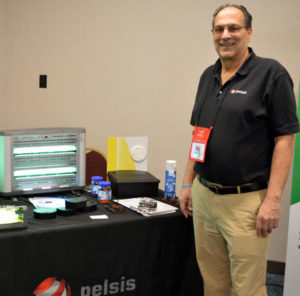 Don Kaufman, the Midwest Regional Sales Manager with Pelsis. PHOTO: MARTY WHITFORD