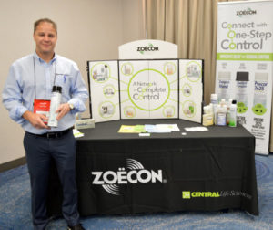 Gabriel Gliwa, a new Regional Sales Manager for Zoecon Professional Products with Central Life Sciences. PHOTO: MARTY WHITFORD