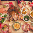 Thanksgiving dinner. Food on table. Photo: kajakiki/E+/GettyImages