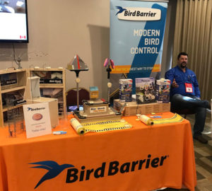 Ray Olschewski, ACE, Eastern Regional Technical Expert with Bird Barrier of America at the 2019 New York Pest Expo. PHOTO: MARTY WHITFORD