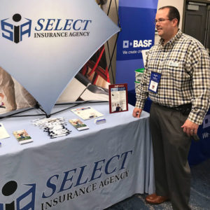 Select Insurance making an appearance at the 2019 New York Pest Expo. PHOTO: MARTY WHITFORD