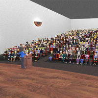 Registrants of the SenSci University training attend sessions in virtual auditoriums. IMAGE: BEDBUG CENTRAL