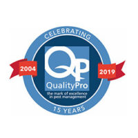 LOGO: QUALITYPRO 15-YEAR ANNIVERSARY