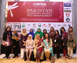 Some of the attendees for the Pakistan Professional Women in Pest Management event. PHOTO: MUHAMMAD AHMAD