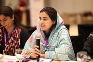 Bushra Karamat, MCCPK Pakistan, shares her motivational story of joining her first female QA at METRO and encouraging the women in the pest management industry. PHOTO: MUHAMMAD AHMAD