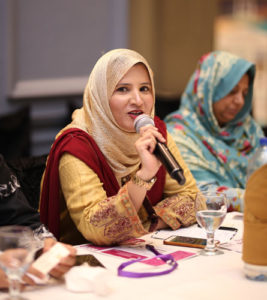 Dr. Sumaira Maqsood, Punjab University Lahore, Pakistan, shares her views about the event. PHOTO: MUHAMMAD AHMAD
