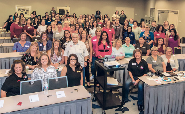 The first WIPC conference offered an opportunity to learn and network. PHOTO: ANNA MUNOZ