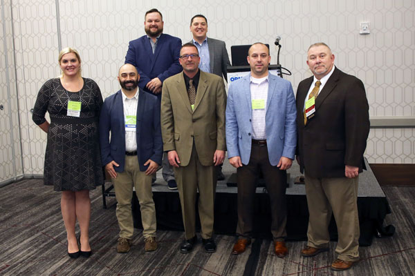 The 2020 OPMA Board of Directors. PHOTO: OPMA