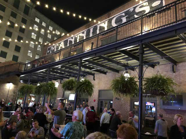 After a full day of learning, ServSuite University attendees were treated to dinner at Manning's, the sports bar from former New Orleans Saints quarterback Archie Manning. PHOTO: DIANE SOFRANEC/PMP