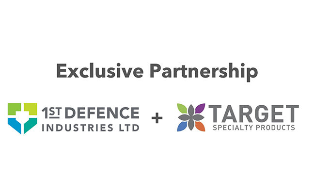 LOGOS: TARGET SPECIALTY PRODUCTS and 1ST DEFENCE INDUSTRIES