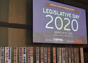The NPMA's Legislative Day event encourages members to get involved in regulatory issues. PHOTO: PMP STAFF