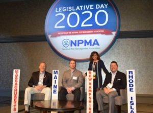 The New England-based members of the NPMA represent at Legislative Day. PHOTO: PMP STAFF