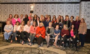 Attendees of the Professional Women In Pest Management (PWIPM) networking event took time out for a photo. A topic of discussion was the International PWIPM Leadership Forum, the NPMA's new event for women that will take place in May. PHOTO: PMP STAFF