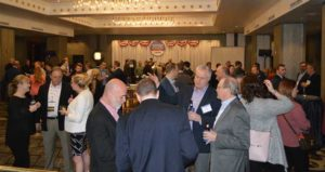 Legislative Day attendees mingled at an evening welcome reception sponsored by Syngenta. PHOTO: PMP STAFF