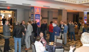 The Legislative Day Reception Monday evening gave attendees a relaxing space to network. PHOTO: PMP STAFF