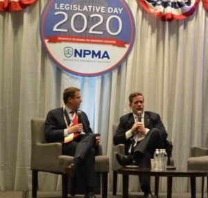 FMC's Mike Seyfert and Former Congressman Bob Dold Jr. (pictured from left to right) offered tips on how to build relationships in Washington, D.C. PHOTO: PMP STAFF