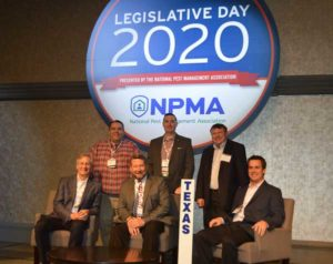 NPMA members from Texas turned out at Legislative Day. PHOTO: PMP STAFF