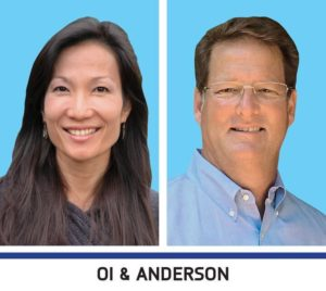 Dr. Faith Oi and Kemp Anderson
