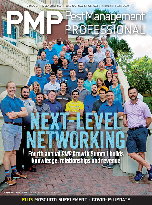 April cover. 2020 PMP Growth Summit. Photo by Lou Ferraro, Park South Photography