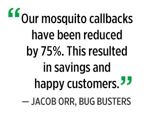Mosquito callbacks quote, by Jacob Orr. Graphic: PMP Staff