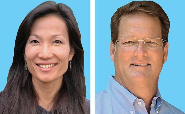 Dr. Faith Oi and Kemp Anderson