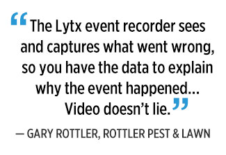 Lytx video quote by Gary Ruttler. Graphic: PMP Staff