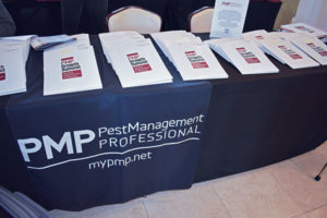 Every partner and attendee's folder with custom schedule and more awaited their arrival, along with PMP drawstring bags full of bottled water, granola bars and other goodies. PHOTO: PMP STAFF
