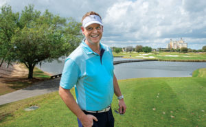 Closest to the pin — within 4 feet, 9 inches — was Jason Billman, Lytx. PHOTO: LOU FERRARO, PARK SOUTH PHOTOGRAPHY