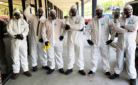 Turner Pest Control technicians wearing the proper PPE for the TurnerClean Disinfection Misting Service. PHOTO: TURNER PEST CONTROL
