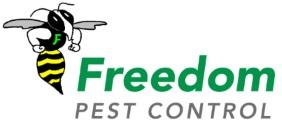 LOGO: FREEDOM PEST CONTROL