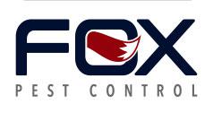 LOGO: FOX PEST CONTROL