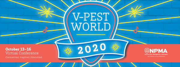 2020 virtual PestWorld. LOGO: NPMA