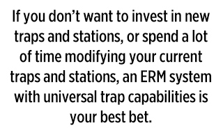 Universal trap capabilities (Graphic: PMP Staff)