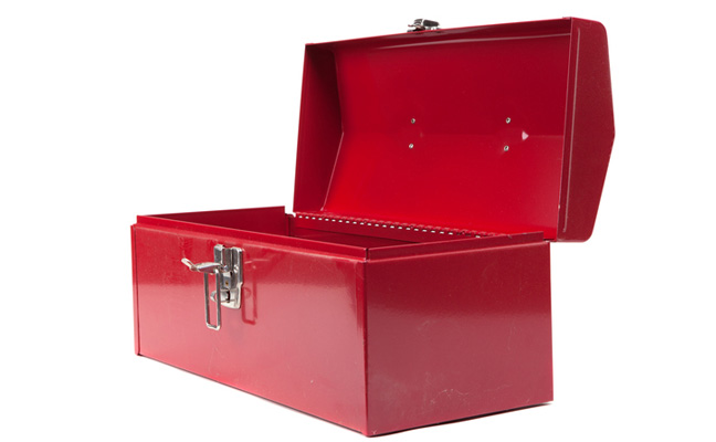 Toolbox. PHOTO: JSOLIE/E+/GETTY IMAGES