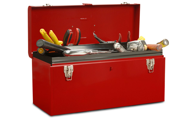 Toolbox. PHOTO: PIXHOOK/E+/GETTY IMAGES
