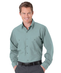 Action Pest Control has opted for UniWeave Soft Comfort Uniform Shirts in a lighter shade of green than in the past. IMAGE: UNIFIRST
