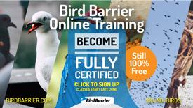 PHOTO: BIRD BARRIER